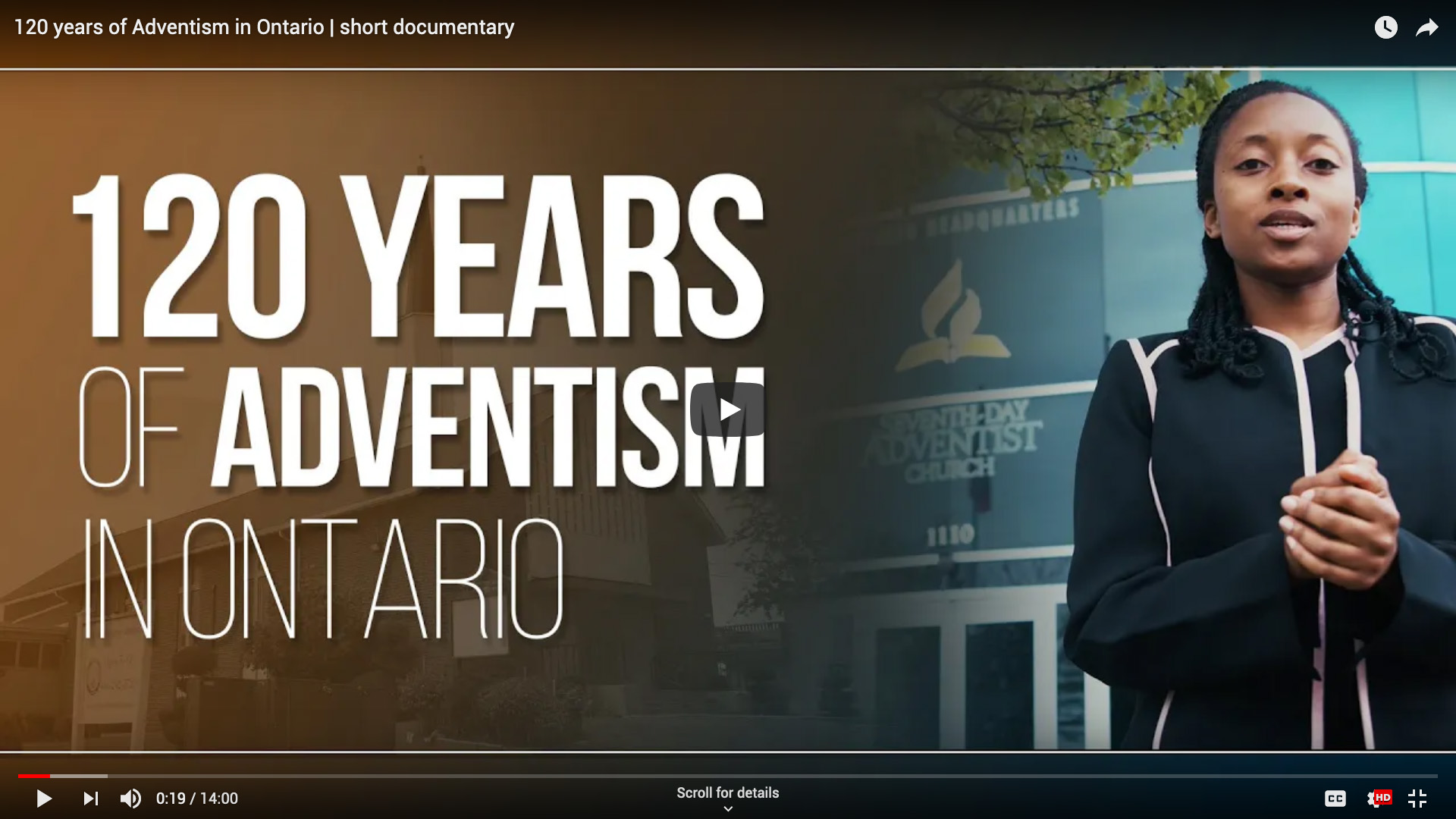 120 Years of Adventism in Ontario