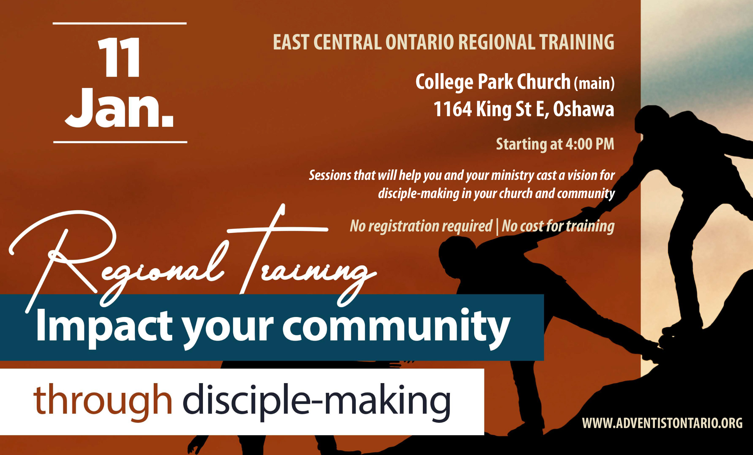 Regional Training Jan 11, 2020