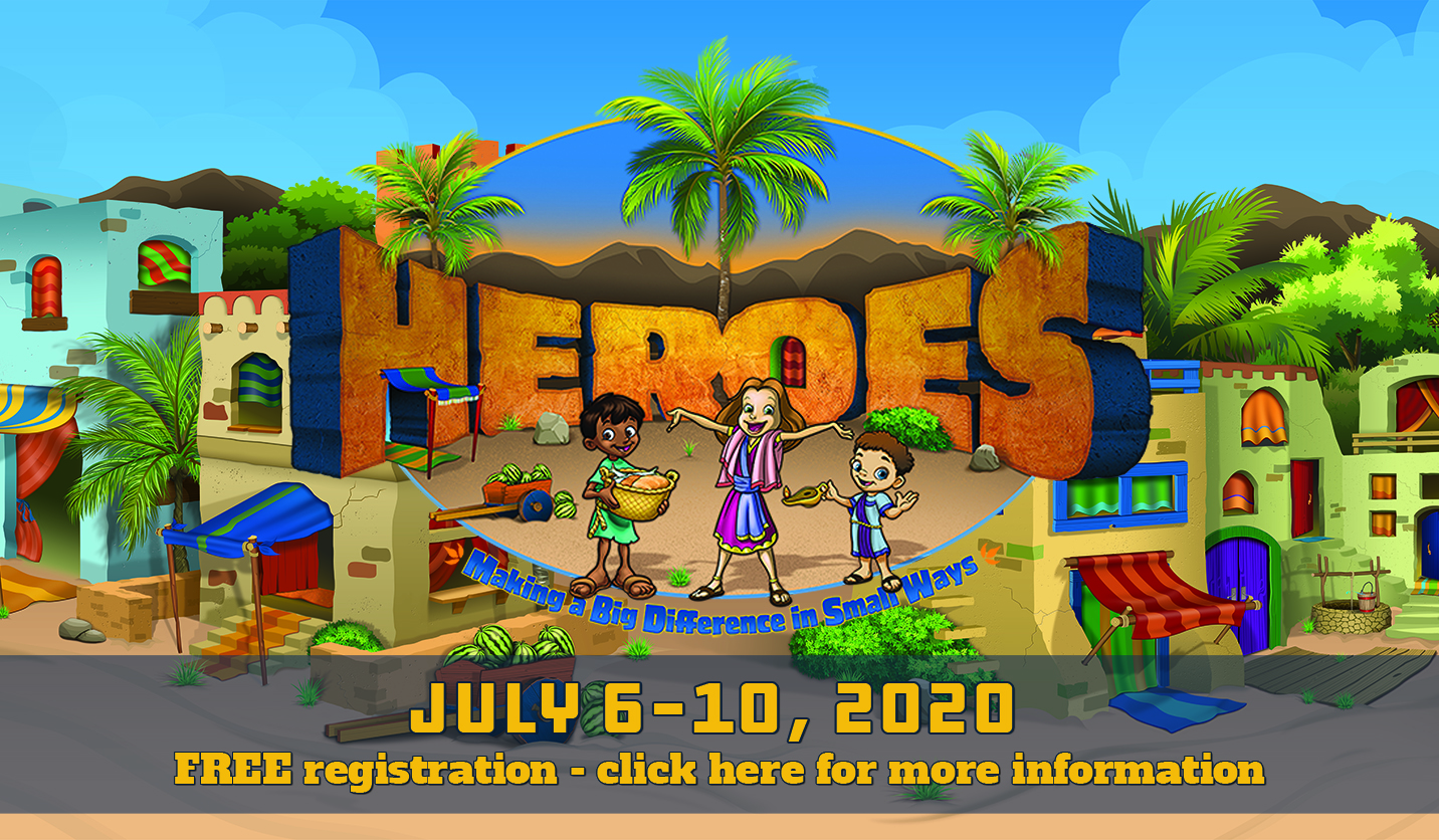 Heroes VBS Live Poster
